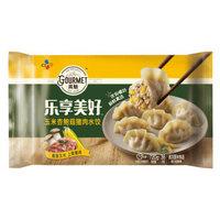 高魅(gourmet)乐享美好玉米杏鲍菇猪肉水饺 720g(36只装 水饺 蒸饺 煎饺)