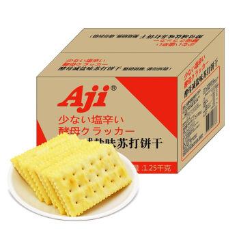 Aji 苏打饼干 (1250g、酵母减盐味、箱装)