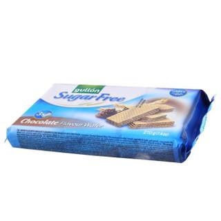 西班牙进口 谷优 Gullon 无糖威化饼干 巧克力味 下午茶休闲零食210g