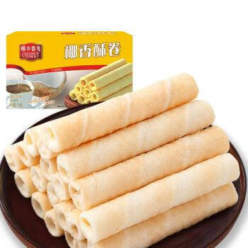 CHUNGUANG 春光 椰香酥卷 (105g、原味、盒装)