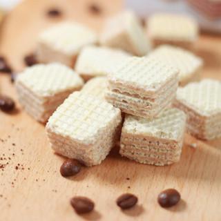 意大利进口 可意奇 卡布奇诺威化饼干 办公室休闲零食 早餐饼干125g