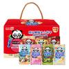 新加坡进口 明治(Meiji)小熊饼干熊猫草莓夹心饼干欢乐组合装300g 伴手礼 小礼盒