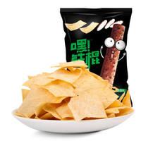 洽洽 膨化小吃 休闲零食 铁棍山药脆片薯片葱香味60g