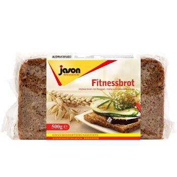 jason 捷森 德国进口  燕麦面包 营养粗粮 500g