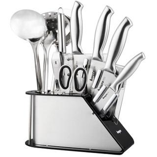 拜格BAYCO 刀具套装 厨房全套德国工艺厨具套装组合不锈钢家用菜刀套装 BD2871