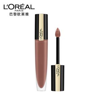 欧莱雅(LOREAL)印迹唇釉 116 小钢笔哑光持久染唇液口红 7ml