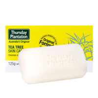 Thursday Plantation 星期四农庄 茶树精油手工皂 125g *3件