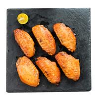 福成鲜到家 烧烤食材 精选翅中 黑椒烤翅 350g  *10件