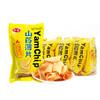 宏途 山药薄片脆片 办公室膨化食品 休闲零食薯片 番茄味小袋装 26g*10袋