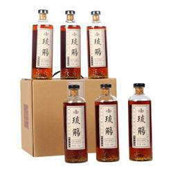 塔牌黄酒 琉觴 出口特型 半甜型黄酒 410ml*6瓶 整箱装 *2件
