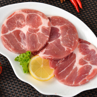 金锣 猪肉 猪梅肉片 500g/袋