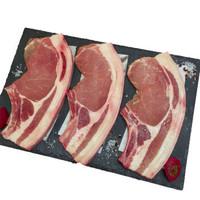 布瑞林 法国原包进口带骨猪大排片1000g/袋 大排片 原装进口