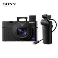SONY 索尼 DSC-RX100M6 数码相机 (黑色、24-200mm、2010 万、1英寸)