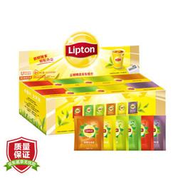 Lipton 立顿 精选独立袋泡茶包 六口味组合 80包153g 茶叶 *2件