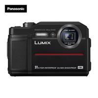 Panasonic 松下 TS7 数码相机 (黑色、28-128mm、2040万、1/2.3英寸)