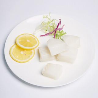 渔天下 冷冻法国银鳕鱼小块(去皮去刺) 宝宝辅食 200g 8-12块(2袋独立小包装) 袋装 海鲜水产