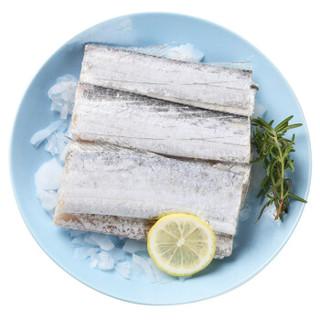 鲜美来 东海带鱼中段 7-9段 420g *14件