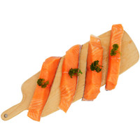 美威严选 三文鱼排480克(大西洋鲑) 4联独立小包 海鲜水产