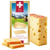 瑞慕(Swissmooh)埃曼塔大孔奶酪 瑞士风味芝士 200g(干酪)