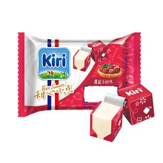 KIRI凯芮甜心小点覆盆子挞味再制干酪(15粒)78g/盒