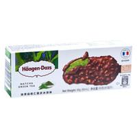 京东PLUS会员 : Häagen·Dazs哈根达斯 抹茶扁桃仁口味 脆皮冰淇淋 69g *6件
