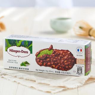 哈根达斯 抹茶扁桃仁口味 脆皮冰淇淋 69g
