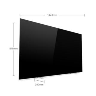 PHILIPS 飞利浦 65OLED784/T3 65英寸 4K OLED电视 (65英寸、16GB、4K超高清(3840*2160))