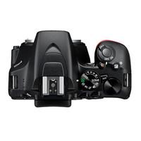 Nikon 尼康 D3500 单反相机 (黑色、35mm、APS、2999万、f/1.8、套机)
