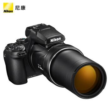 Nikon 尼康 COOLPIX P1000 数码相机 (黑色、1,605万、1/2.3英寸)