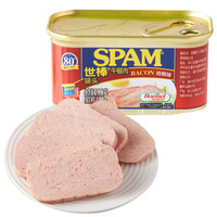 SPAM 世棒 午餐肉罐头 培根口味  198g