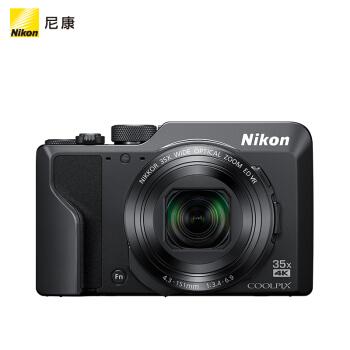 Nikon 尼康 COOLPIX A1000 数码相机 (黑色、2000万、1/2.3英寸)