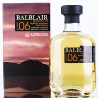 手慢无 : 巴布莱尔 Balblair 洋酒 2006 节庆版 苏格兰威士忌 单一麦芽 700ml *2件