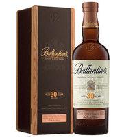 百龄坛(Ballantine's)洋酒 30年 苏格兰 威士忌 700ml 原装进口