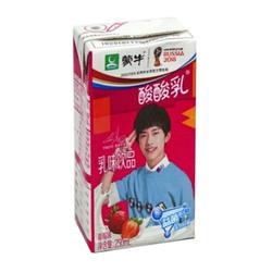 蒙牛酸酸乳草莓乳味饮品250ml*24盒酸甜好滋味营养好吸收 *2件