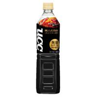悠诗诗(UCC)职人 无糖黑咖啡饮料 930ml/瓶 日本进口