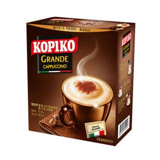 京东PLUS会员 : 可比可 印尼进口 (KOPIKO)即溶咖啡饮料 豪享卡布奇诺咖啡5包 151.25g
