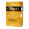 马来西亚进口 奢斐(CEPHEI)冷热双泡原味速溶咖啡饮料5支装 60g 冻干咖啡粉