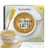 马来西亚进口 泽合怡保  哥伦比亚拿铁咖啡 228g(28g*6包)送冰糖棒甜味可调