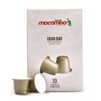 德国进口意式浓缩 德拉戈·莫卡波(Drago Mocambo)黄金条咖啡胶囊50g/盒(5g*10粒)nespresso咖啡机可用