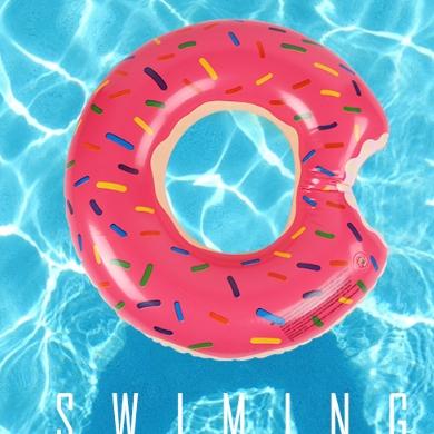 亦美珊 甜甜圈游泳圈 70-90寸
