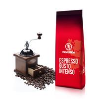 德国进口意式浓缩咖啡 德拉戈·莫卡波 超浓咖啡豆1kg/袋 Espresso Gusto Instenso深度烘焙咖啡豆