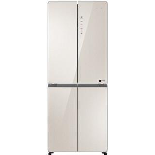 Leader 统帅 海尔出品 402升风冷无霜 彩晶变频 十字对开门冰箱 厨装一体 DEO净味 BCD-402WLDCJ