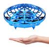 依成 手掌智能感应飞碟 口袋迷你无人机 四轴飞行器 UFO儿童男孩学生玩具 悬浮避障定高旋转 蓝色 78元包邮(2人拼团)