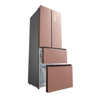 LittleSwan 小天鹅 BCD-310WGPL 变频无霜多门冰箱 (玫瑰金、310升、2级、变频)