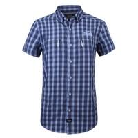 LONSDALE 龙狮戴尔 189050117 男士速干格子衬衫