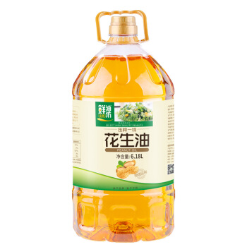KINGSHARE 金胜 鲜油坊压榨花生油 (6.18L、桶装)