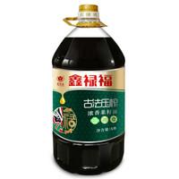 鑫禄福 古法压榨浓香菜籽油  非转基因食用油 5L