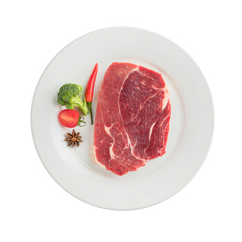 京东PLUS会员 : 帕尔司 原切上脑牛排套餐 600g  3片装 *3件