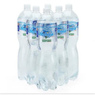 意大利原装进口 圣尔尼(Molisia)充气天然矿泉水 1.5L*6瓶 气泡水 *6件