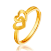 CHOW TAI FOOK 周大福 F152998 戒指 (2.7g、金色)